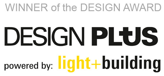 Winner of the Design Award Design Plus powered by Light and Building