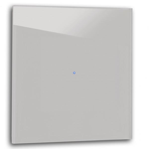 Warm Grauer 1-fach Touch-Licht-Schalter 230V in der Farbe: DOVE TALE ® von Farrow & Ball Nr.: 267