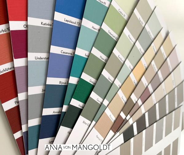 Farbkarte ANNA von MANGOLDT