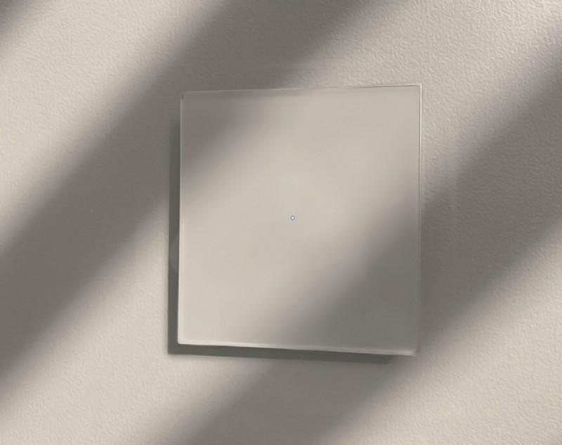 Lichtschalter Beige, LED beleuchteter Berührungsschalter