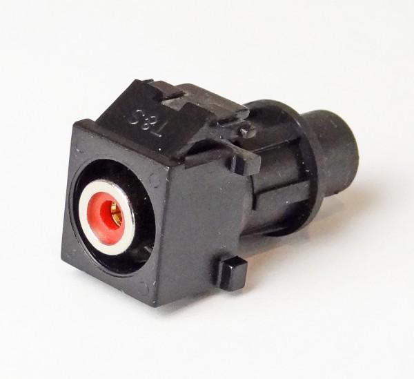 Lautsprecheranschluss Buchse RCA, ROT
