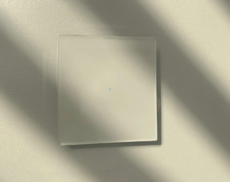 Beiger Touch-Lichtschalter230V. ROHDE+ROHDE