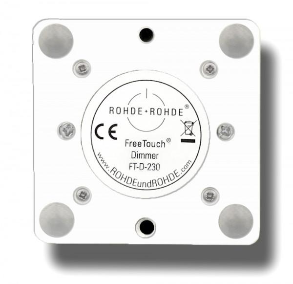Berührungsloser Dimmer+Schalter FreeTouch®. Ohne Abdeckung FT-D-230