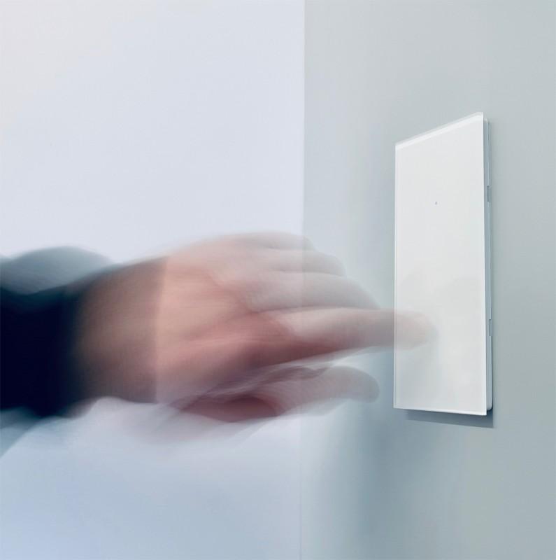 Touch-Lichtschalter weiß Berührungsschalter Sensorschalter Smart Home