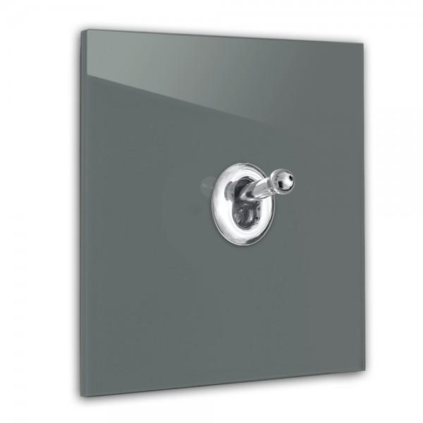 "Lichtschalter mit Chrom Kipphebel ""CAMBRIDGE Color"" 230V"
