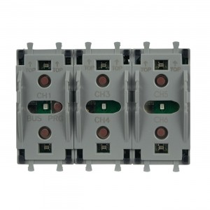 AVE Schalter KNX. Bis zu 6 programmierbare Schaltpunkte