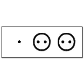 1-fach und 2 Steckdosen_XL
