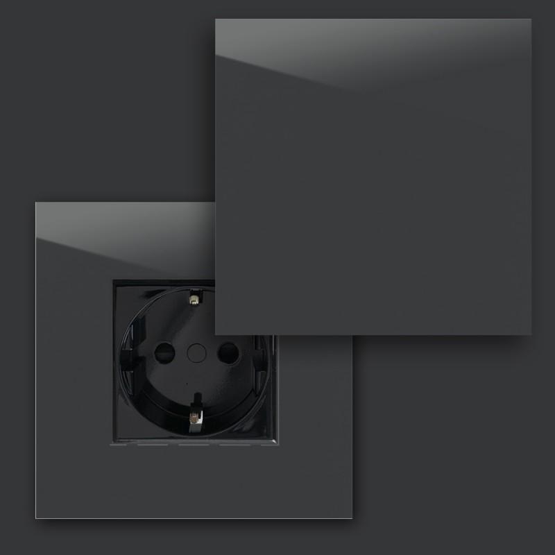 Steckdose Grau viele Varianten