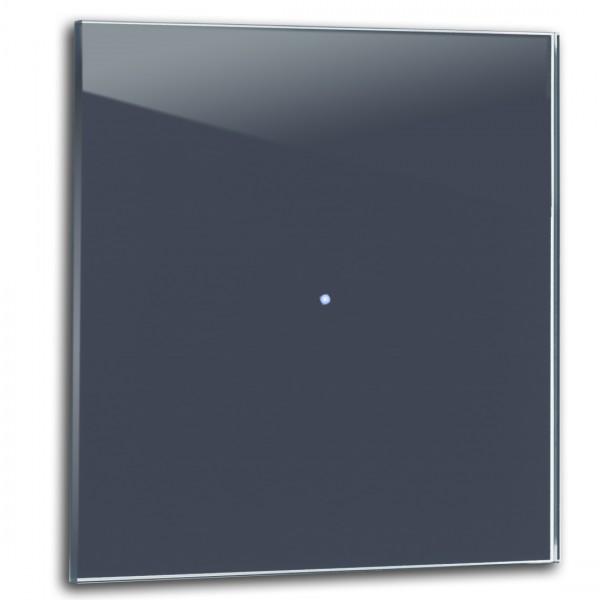 Dunkel-Blauer 1-fach Touch-Licht-Schalter 230V in der Farbe: STIFFKEY BLUE ® von Farrow & Ball Nr.: 281