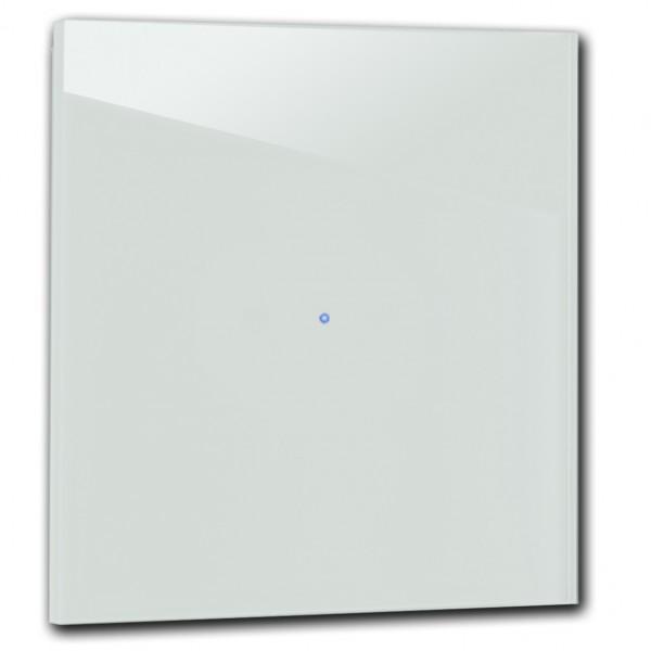 """Hell Blauer 1-fach Touch-Licht-Schalter 230V in der Farbe: """"LIGHT BLUE ® von Farrow & Ball Nr.: 22"""