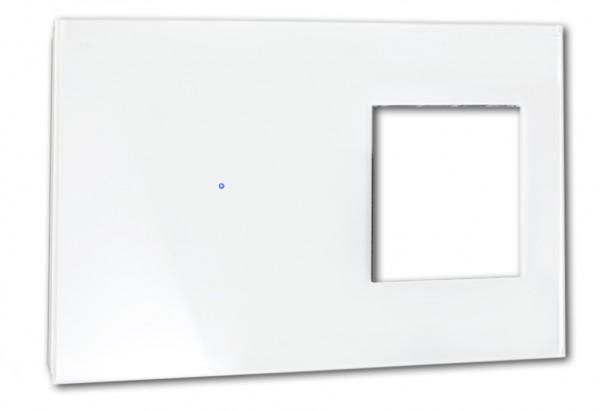 """FRONTBLENDE für Touch-Lichtschalter-Kombination. """"NOVA Color"""""""