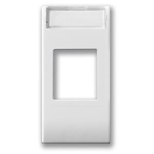 Adapter f. USB-Steckdose, HDMI, Lautsprecherbuchsen. Weiß glänzend.