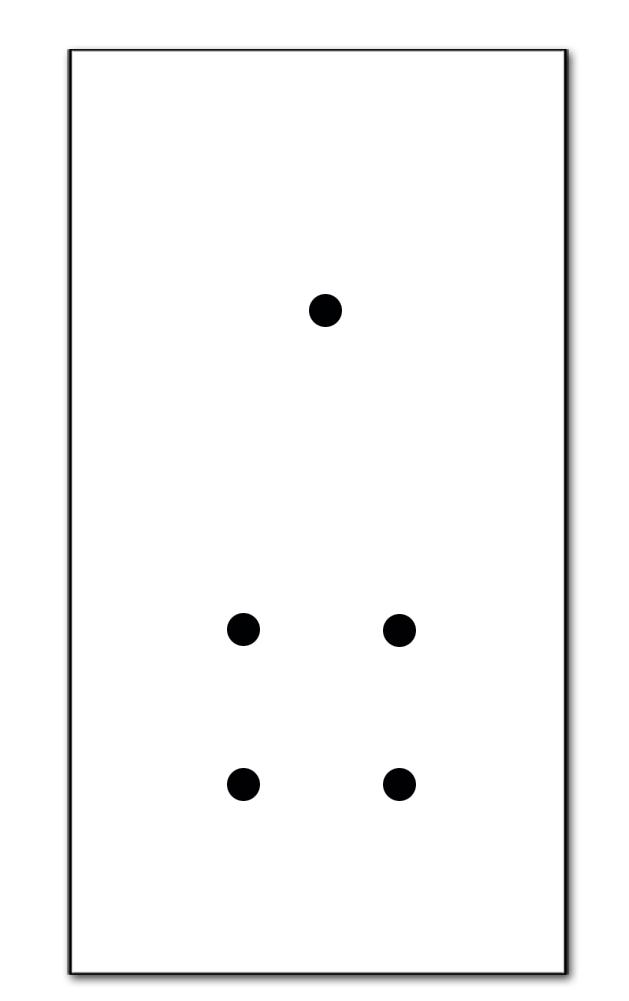 5-fach (für 2 Wanddosen)