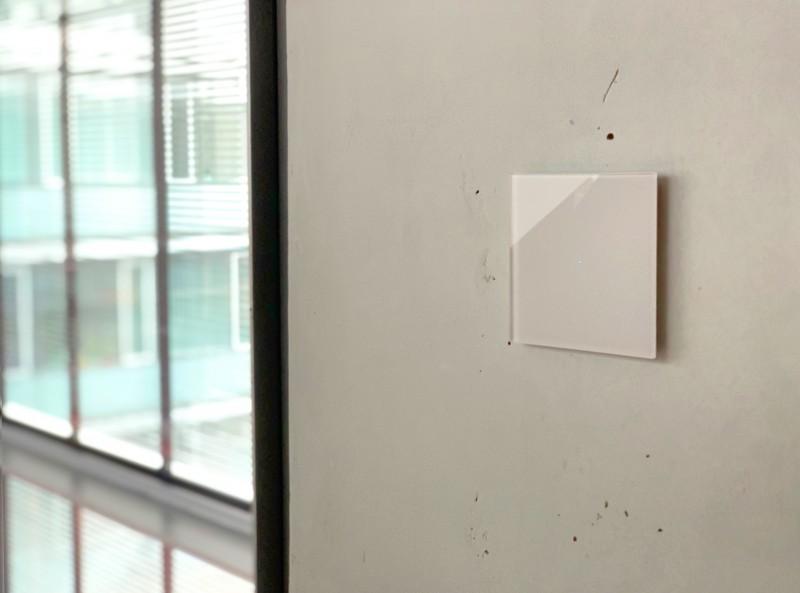 Beleuchteter Touch-Lichtschalter Beiger Berührungsschalter