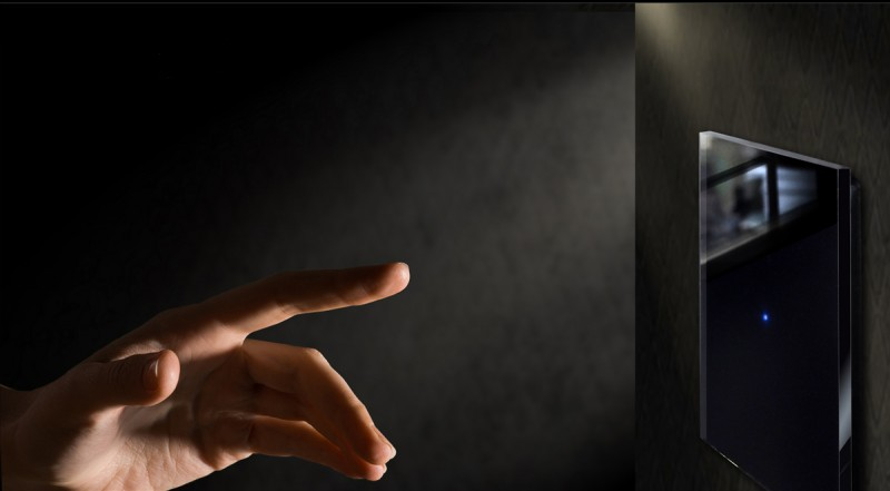 Lichtschalter Schwarz, LED beleuchtete in Farrow & Ball Farben von ROHDE+ROHDE
