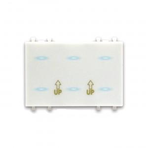 AVE 6-fach-Sensor. Individuell programmierbar. 230V. 120er Format (3 Module)