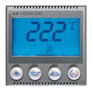 Silberfarbener, Metallfarbener, Alufarbener Thermostat-Einsatz