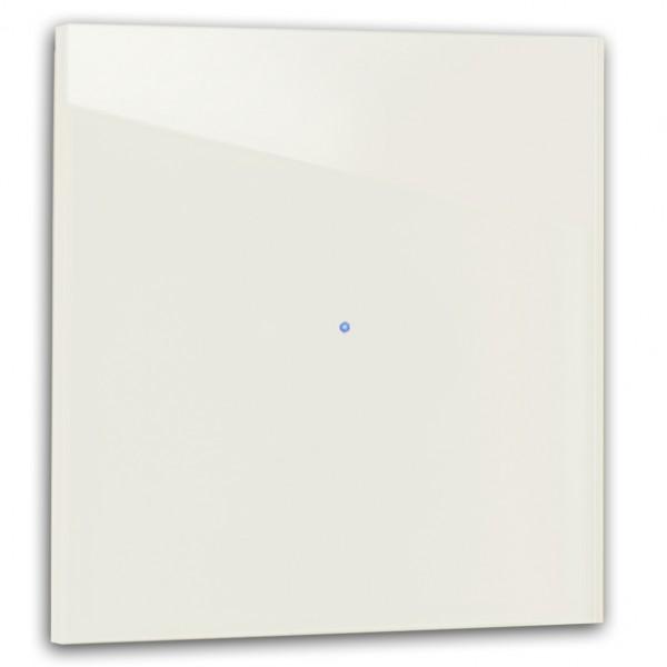 Warm Weißer 1-fach Touch-Licht-Schalter 230V in der Farbe: SLIPPER SATIN ® von Farrow & Ball Nr.: 2004