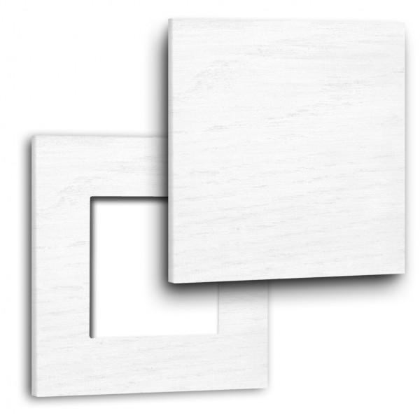 """Rahmen - Holz lackiert - in Farrow & Ball Farbe mit Abdeckung. Für eckige Einsätze. """"MAXIM""""-"""