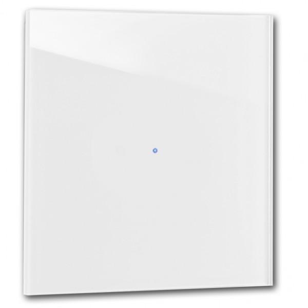Zart-Grauer 1-fach Touch-Licht-Schalter 230V in der Farbe: STRONG WHITE ® von Farrow & Ball Nr.: 2001