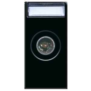10 dB. TV/SAT DURCHGANGS-Anschluss (Stecker). Schwarz glänzend.