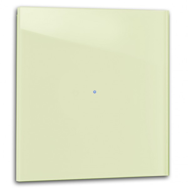 Hell-Grüner 1-fach Touch-Licht-Schalter 230V in der Farbe: COOKING APPLE GREEN ® von Farrow & Ball Nr.: 32