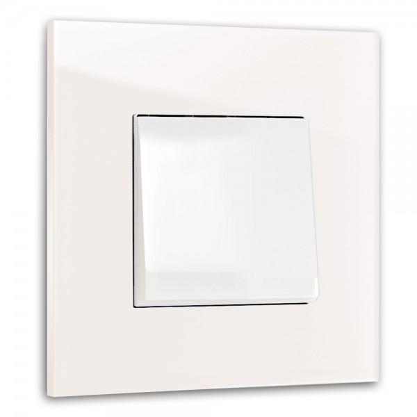 Rosa farbener 1-fach Lichtschalter von ROHDE+ROHDE in der Farbe: CALAMINE ® von Farrow & Ball Nr.: 230
