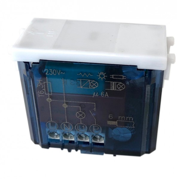 AVE Touch-Sensor: Ein-/Ausschalter 230V mit integriertem Relais.