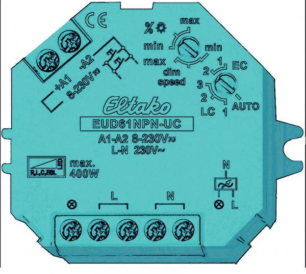 Universal-Dimmer 230V. Bis 400W.