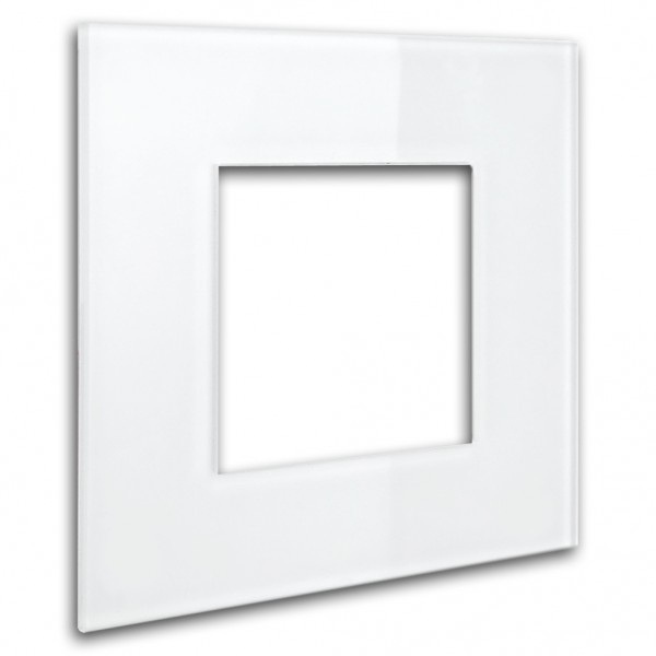 """Rahmen - Glas-Optik - in Anna v.Mangoldt Farbe. Für eckige Einsätze. """"MAXIM"""""""
