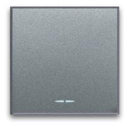 Schaltwippe KREUZ-Schalter, breit, Silber