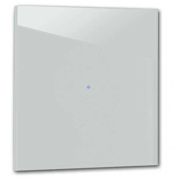 Tauben-Blauer 1-fach Touch-Licht-Schalter 230V in der Farbe: OVAL ROOM BLUE ® von Farrow & Ball Nr.: 85