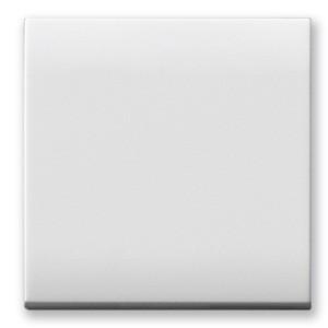 SET, Wechselschalter 16A mit Abdeckung. Weiß glänzend.